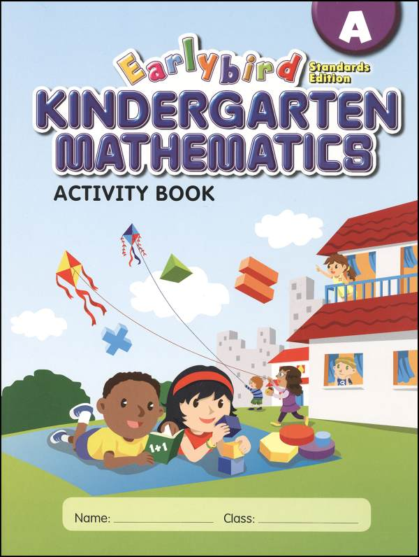 Earlybird Kindergarten Math Activity Book A Standards Edition