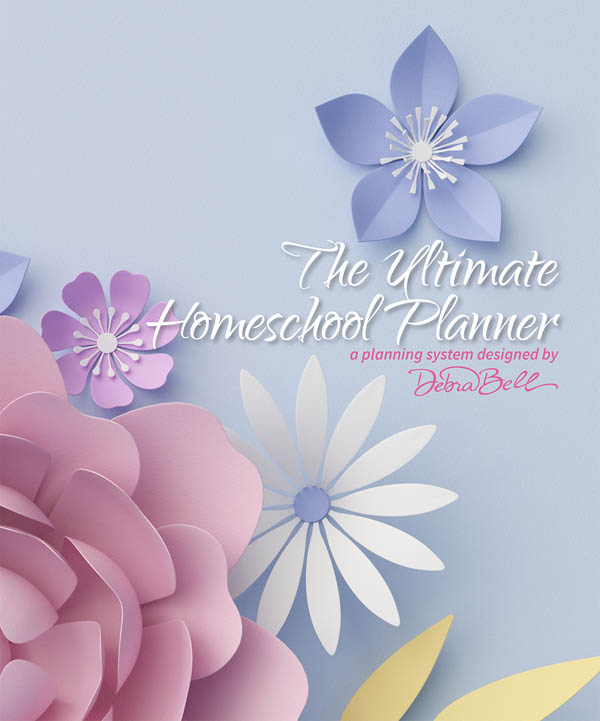 Ultimate Homeschool Planner with Purple & Pink Cover