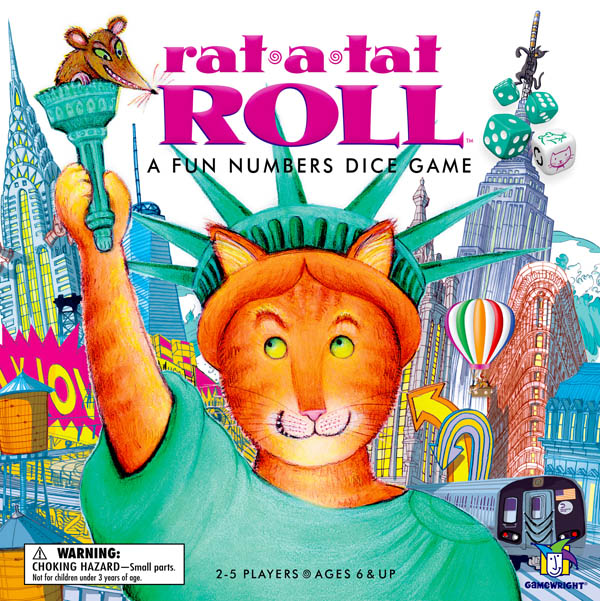Rat-A-Tat Roll Numbers Dice Game