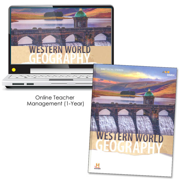 World Geography: Western World Homeschool Package