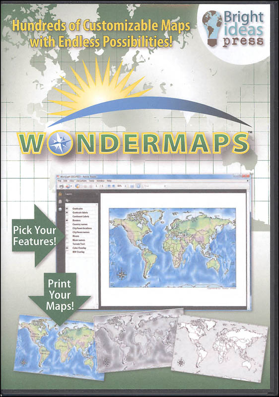 Wondermaps CD-ROM Version 1.2