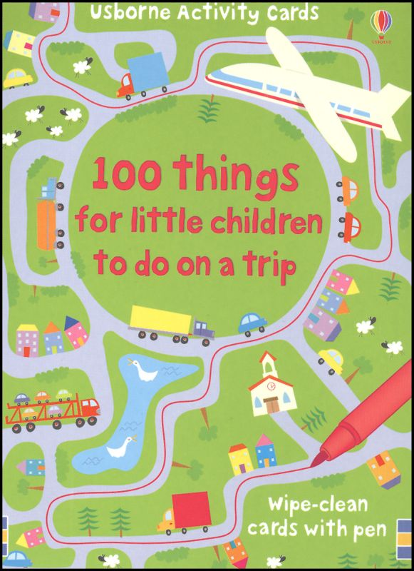 100 Things For Little Children to Do on a Trip Activity Cards