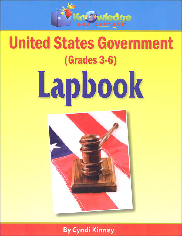 United States Government Lapbook Printed (Grades 3-6)