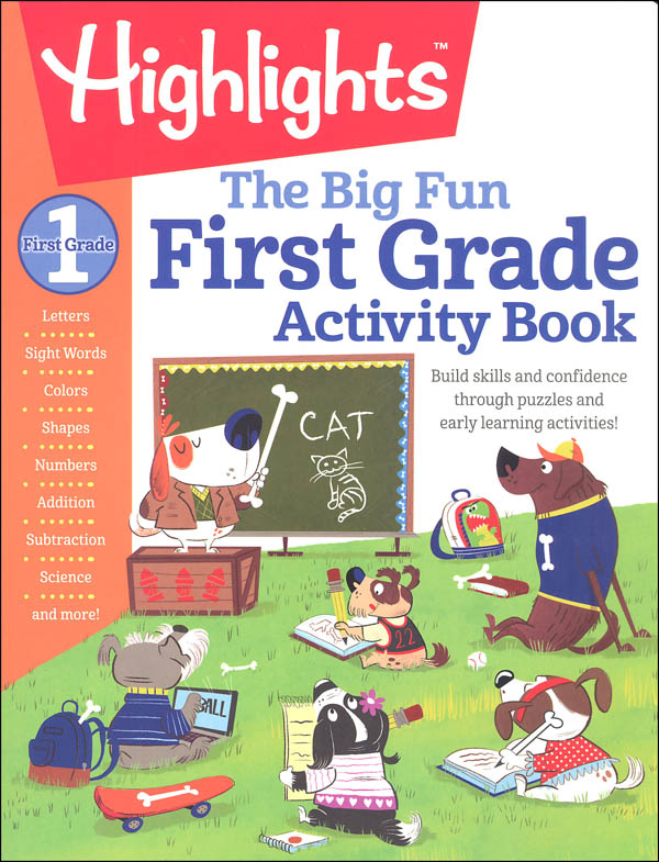 Big Fun First Grade Activity Book