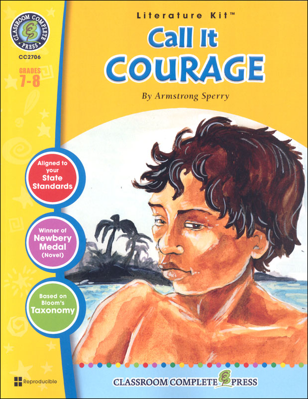 Call It Courage Literature Kit (Novel Study Guides)
