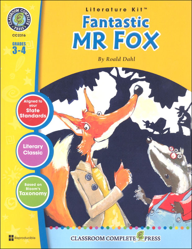 Fantastic Mr. Fox Literature Kit (Novel Study Guides)