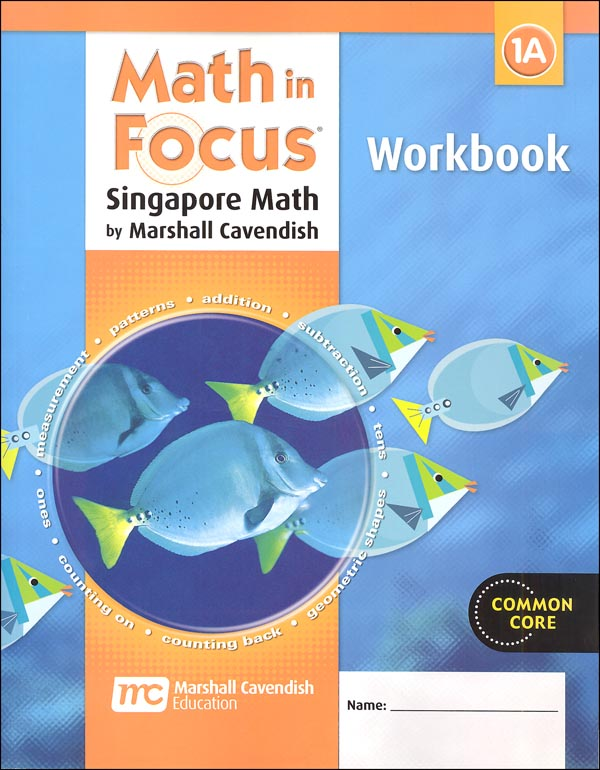 Math in Focus Grade 1 Workbook A