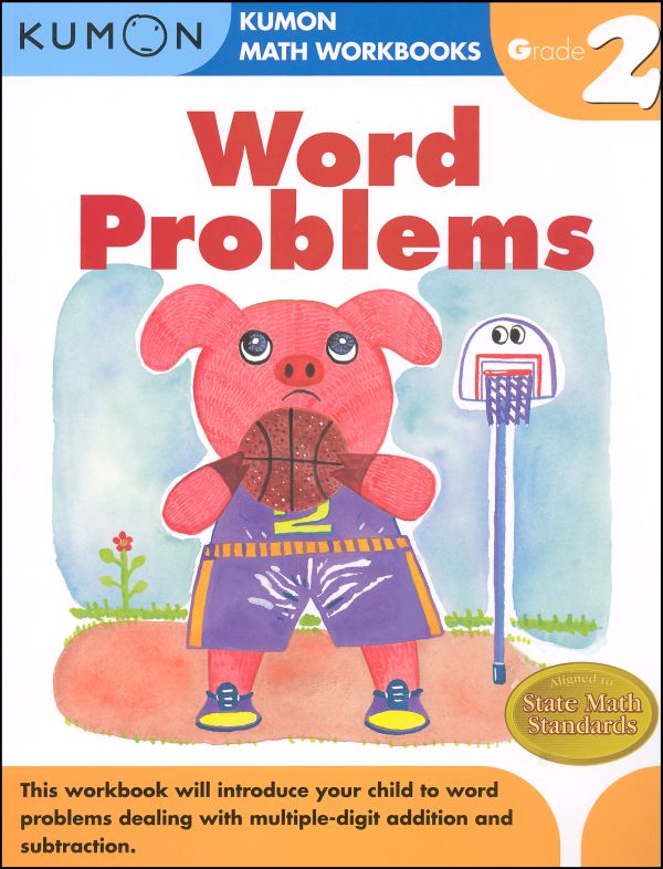 Word Problems Workbook - Grade 2