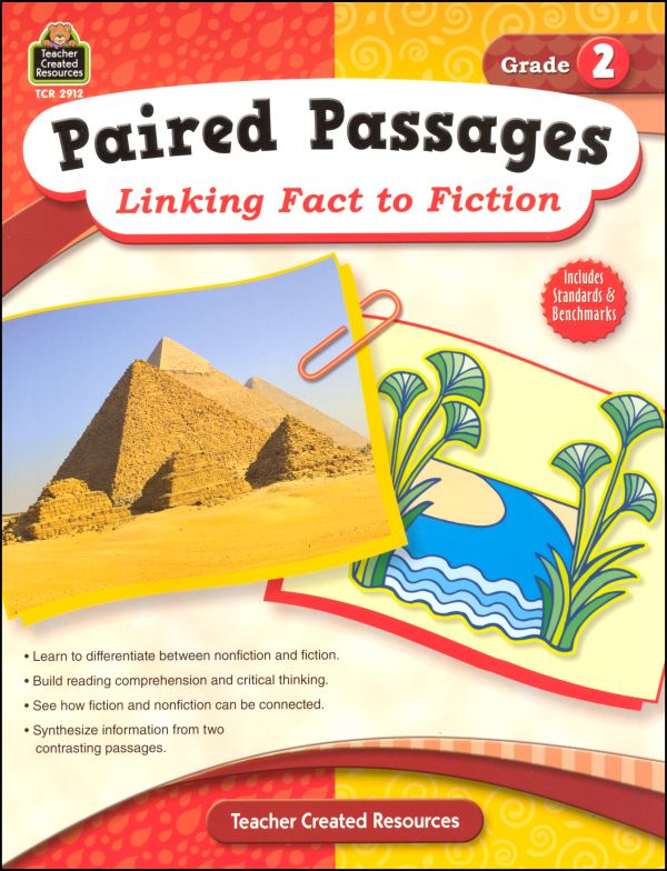 Paired Passages: Linking Fact to Fiction - Grade 2