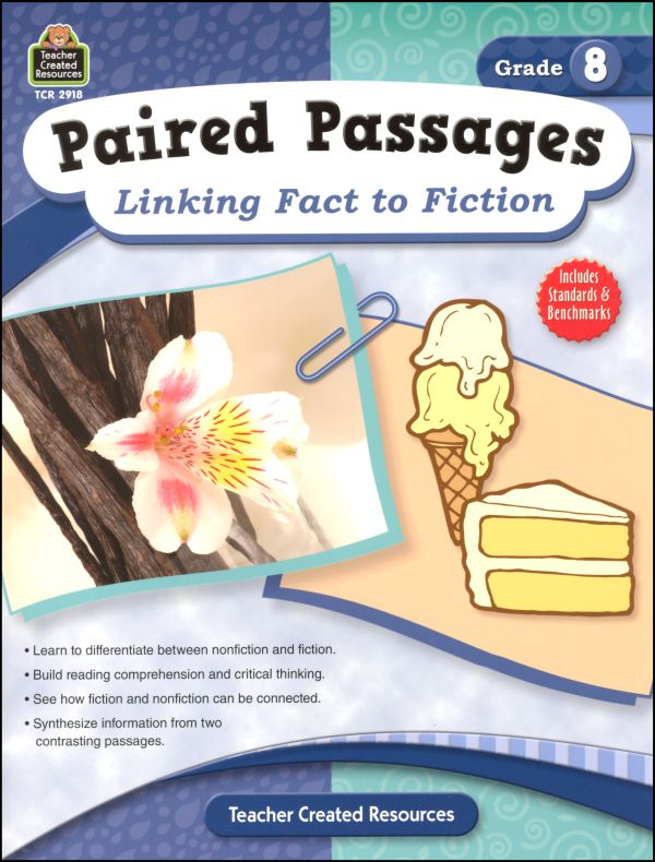 Paired Passages: Linking Fact to Fiction - Grade 8