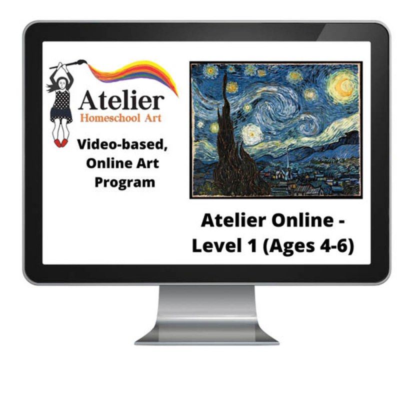 Atelier Online Art Curriculum - Complete Level 1