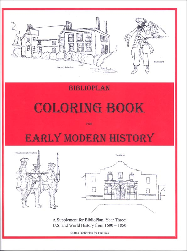 BiblioPlan: Early Modern History Coloring Book (America and the World from 1600-1850)