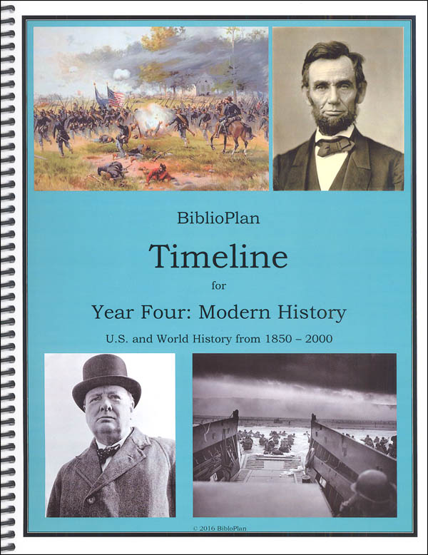 BiblioPlan: Modern America and the World (1850-2000) Timeline