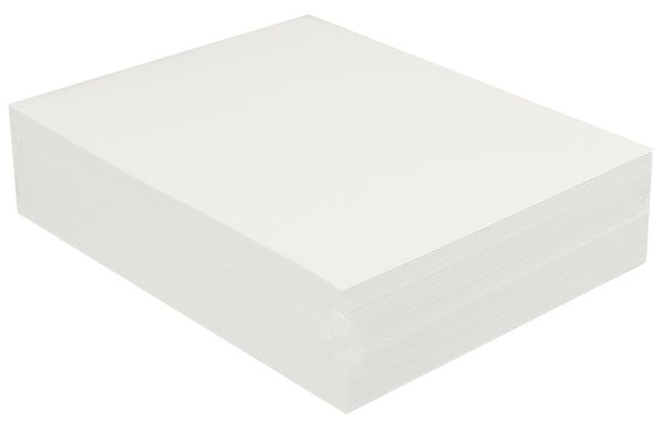 "Premium Bright White Sulphite Drawing Paper 9""x12"" - 500 Sheets"