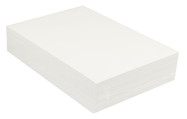 "Premium Bright White Sulphite Drawing Paper 12""x18"" - 500 Sheets"