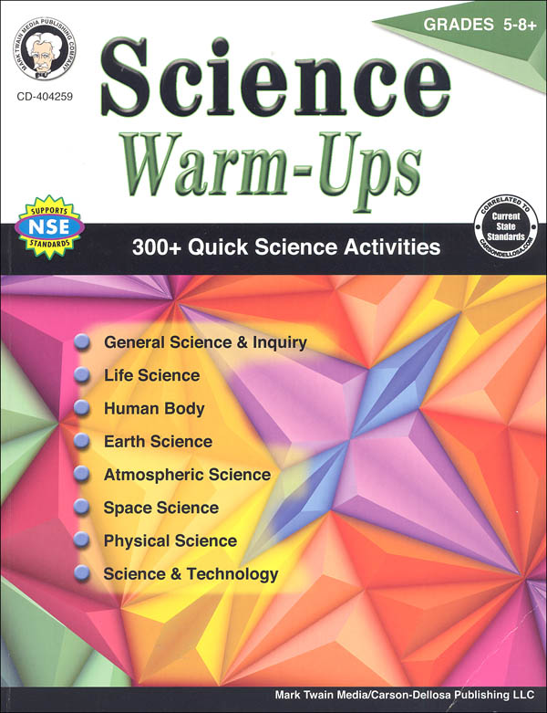 Science Warm-Ups: Grades 5-8