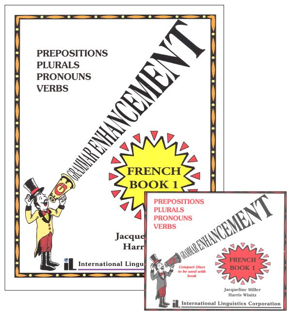 French Grammar Enhancement Book & CDs