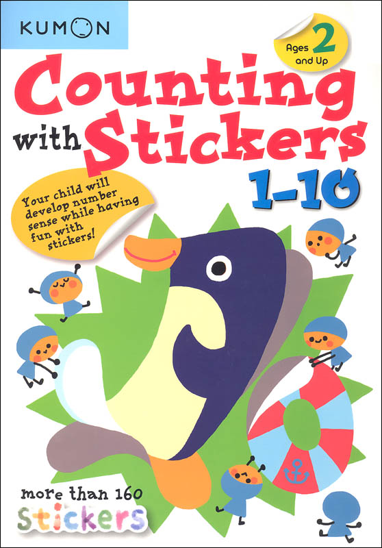 Counting with Stickers 1-10