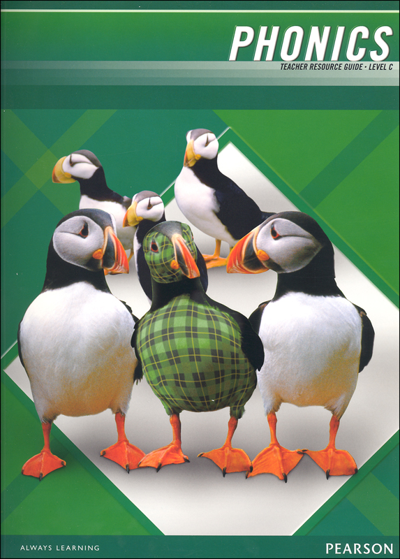 Plaid Phonics Teacher Resource Guide Level C (2011 Edition)