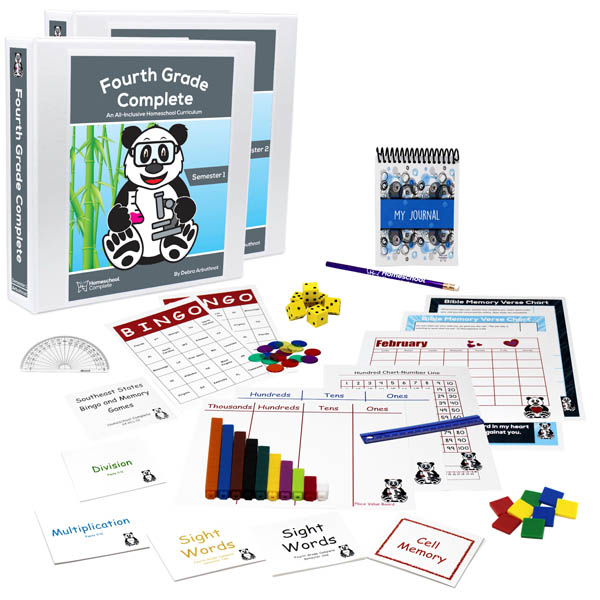 Fourth Grade Complete: Full Year Bundle