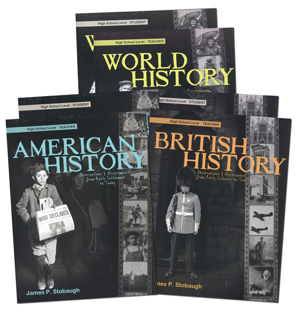 Complete High School History Curriculum Package