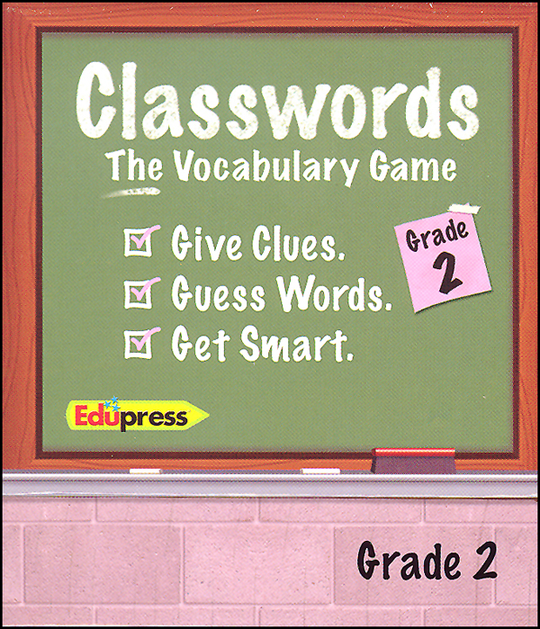 Classwords Vocabulary Game - Grade 2