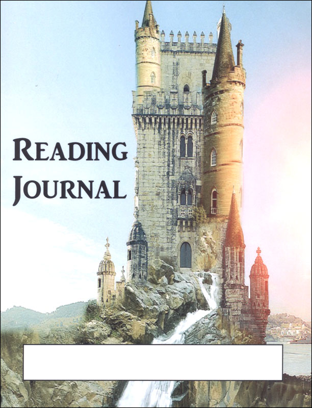 Reading Journal: Castle (Wide Ruled)