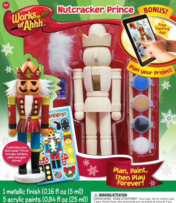Nutcracker Prince Painting Kit