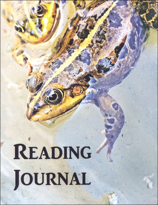 Reading Journal: Frog (Thin Ruled)