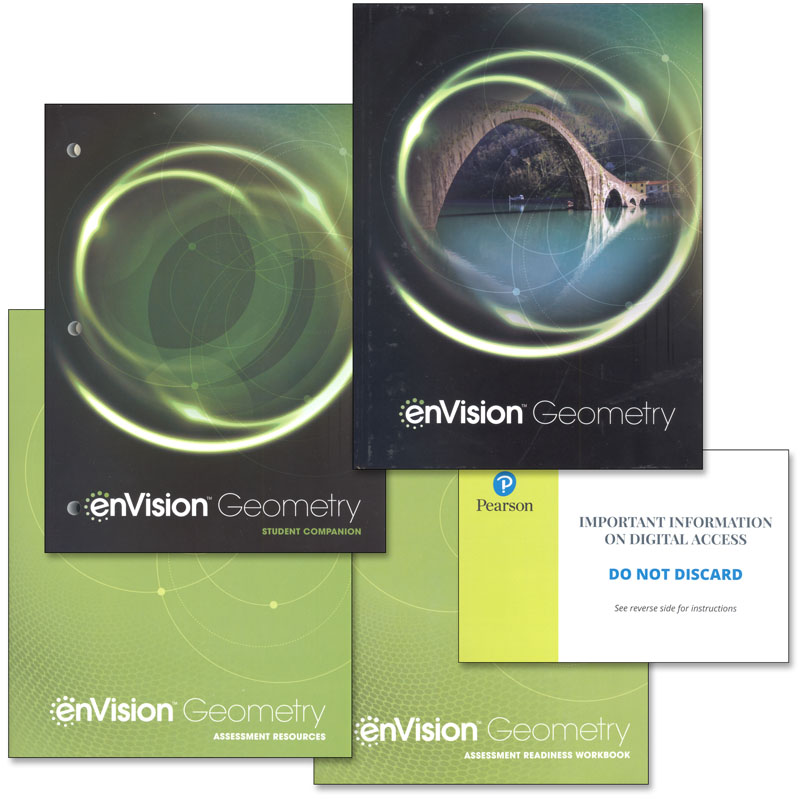 EnVision Math Geometry Homeschool Bundle (2018 Edition)