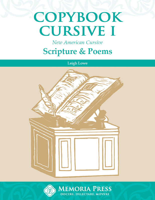 Copybook Cursive Book 1: Scripture and Poems