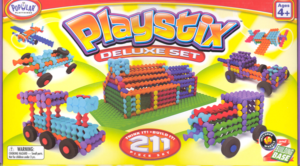 Playstix Deluxe Set - 211 Piece Set