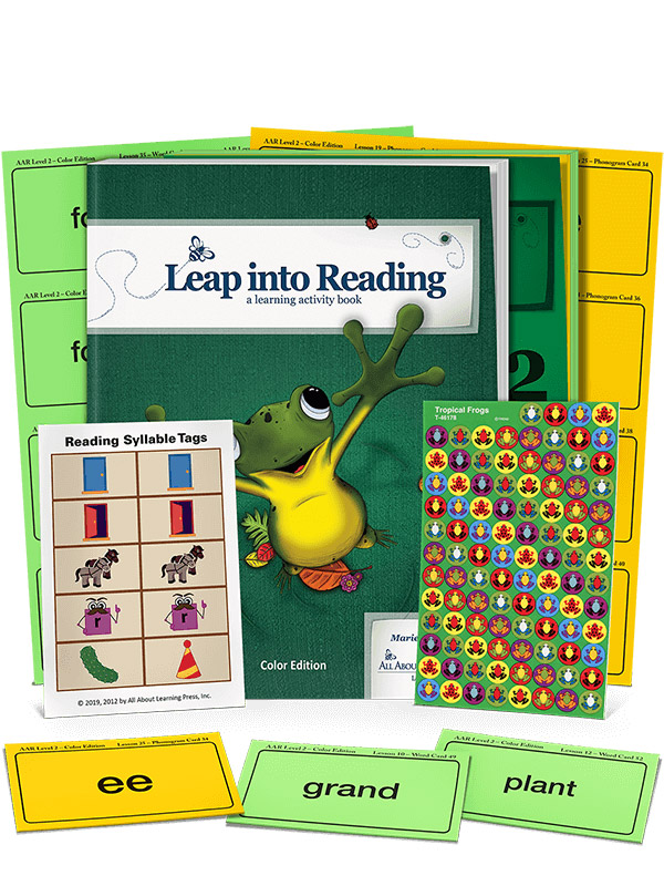 All About Reading Level 2 Student Packet Color Edition
