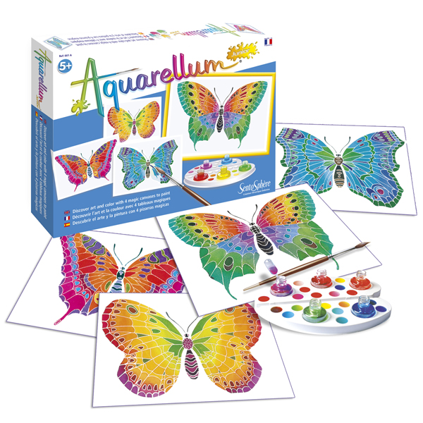 Aquarellum Junior - Butterflies