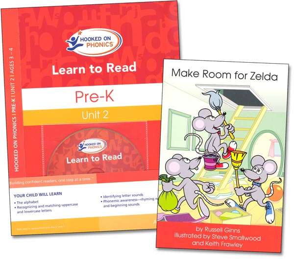 Learn to Read Pre-K Unit 2 MM (Hooked on Phonics)