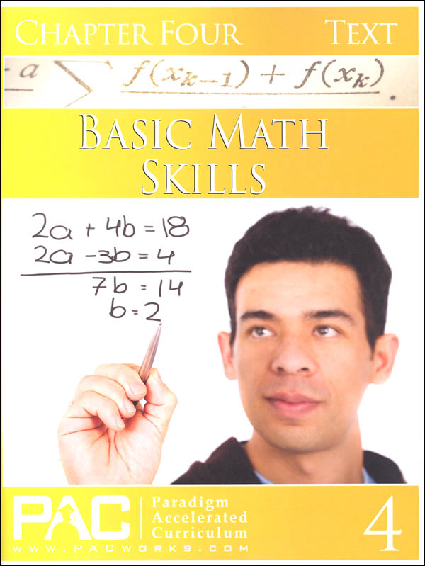 Basic Math Skills: Chapter 4 Text
