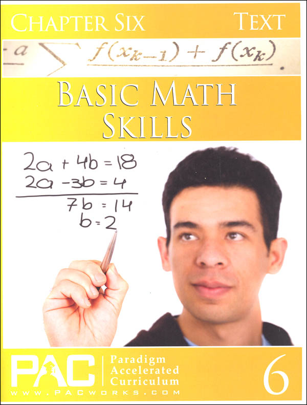 Basic Math Skills: Chapter 6 Text