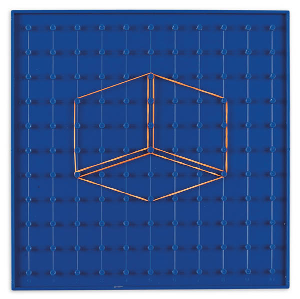 Circle Trig Geoboard - Blue