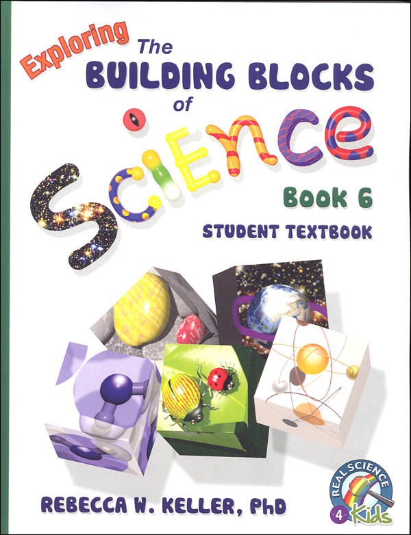 Exploring Building Blocks of Science Book 6 Student Textbook (soft cover)