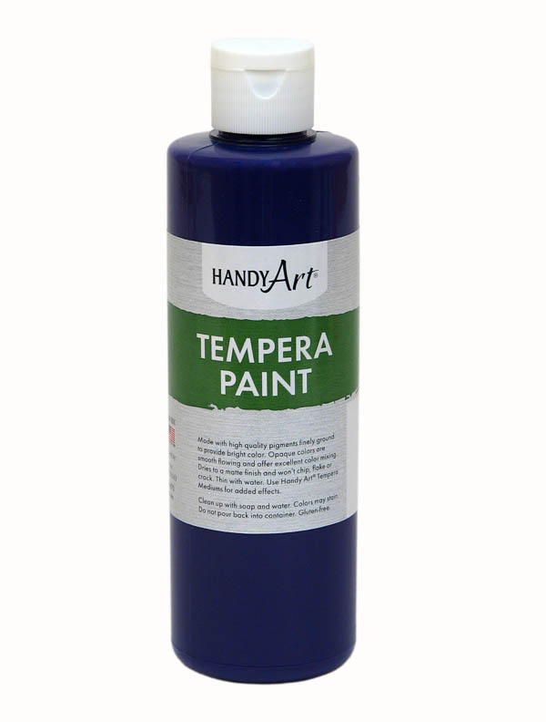 Violet Tempera Paint 8 oz.