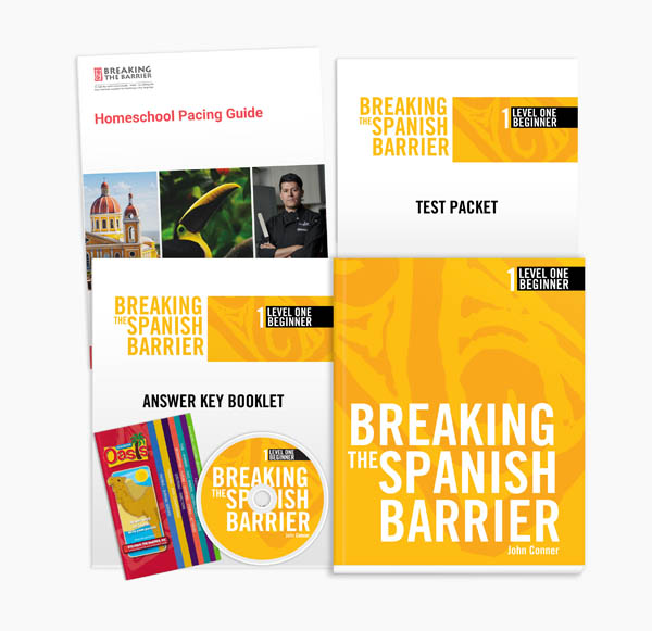 Breaking the Spanish Barrier Level 1 Homeschooler Package