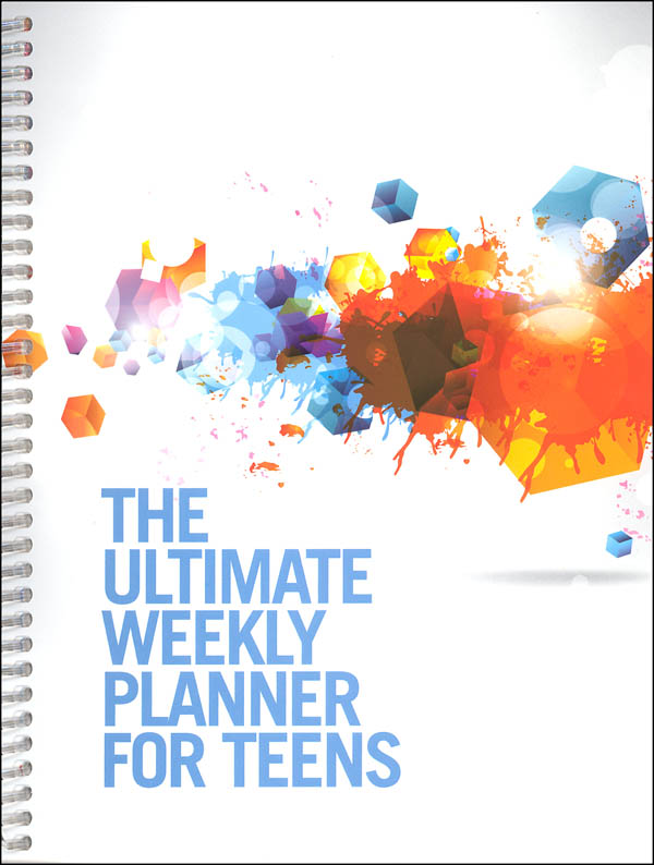 Ultimate Weekly Planner for Teens (White)