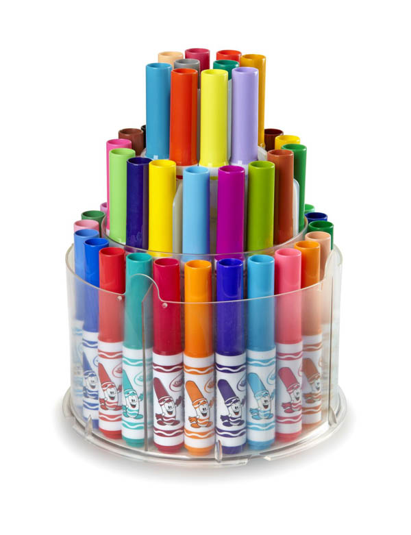 Crayola Pip-Squeaks Telescoping Marker Tower 50 count