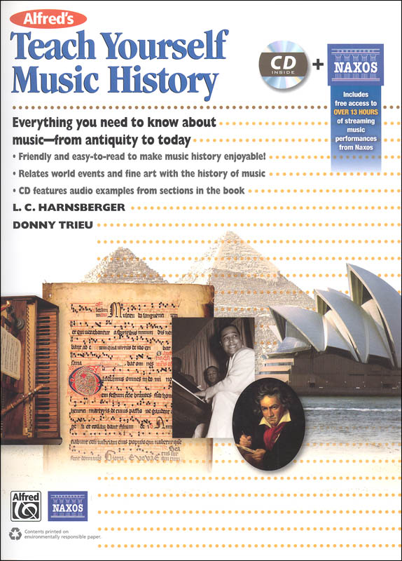 Alfred's Teach Yourself Music History Book & CD