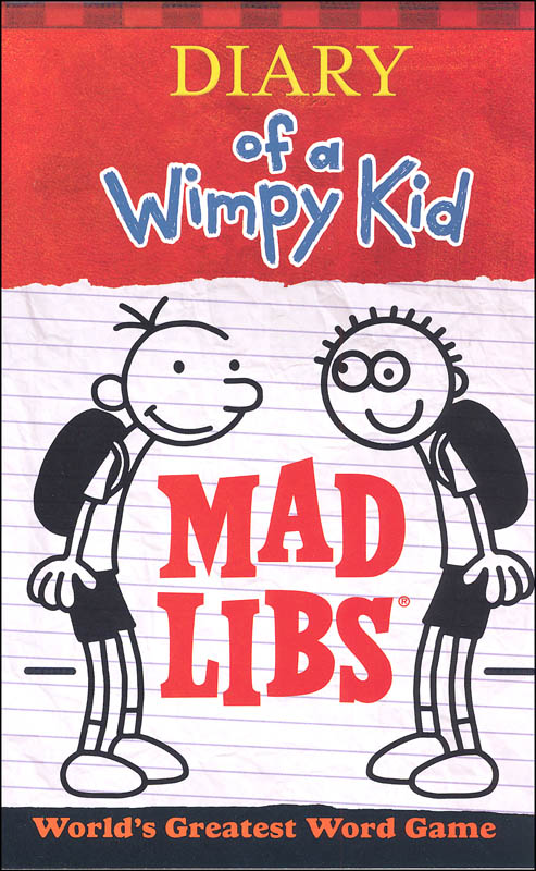 Diary Of A Wimpy Kid Mad Libs Price Stern Sloan 9780843183535