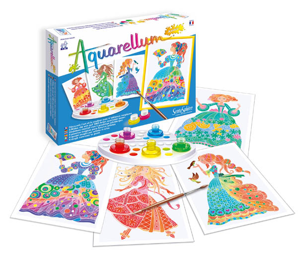 Aquarellum Junior - Flower Princesses