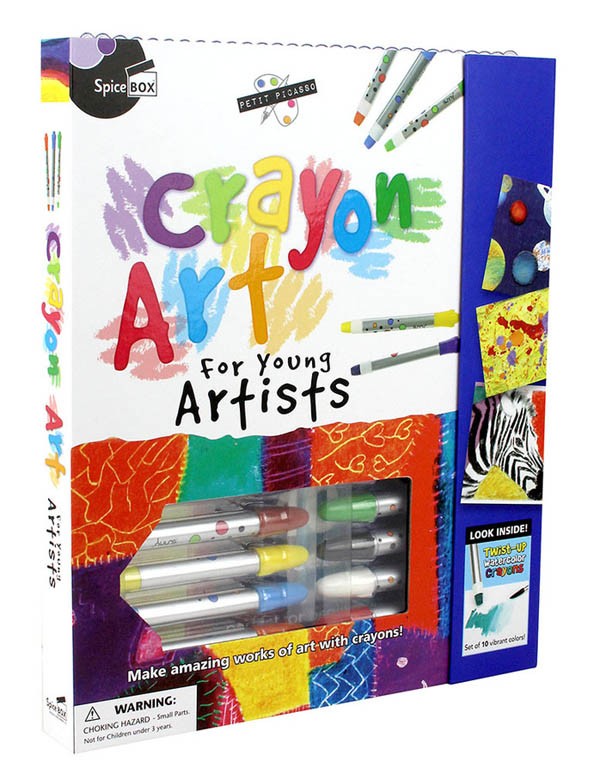 Crayon Art for Young Artists (Petit Picasso)