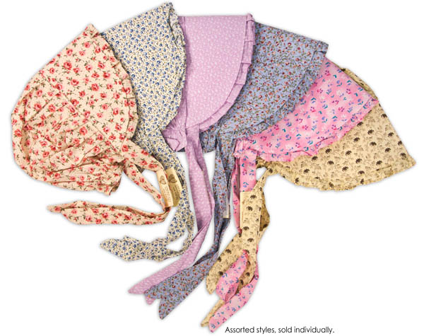 Print Bonnet - Small (assorted colors/styles)