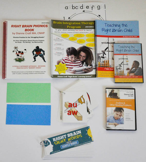 Right Brain Reading Package