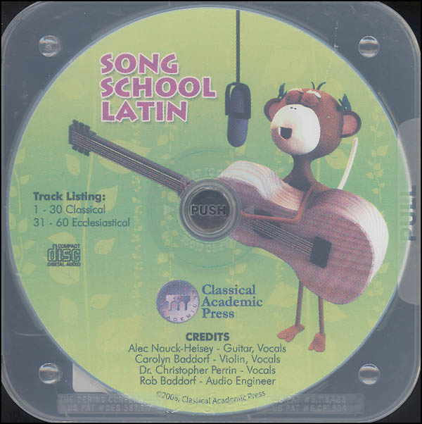 Song School Latin CD Only - Book 1